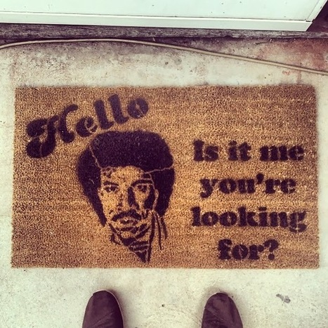 20 Mildly Amusing Door-mats | Kitsch | Scoop.it