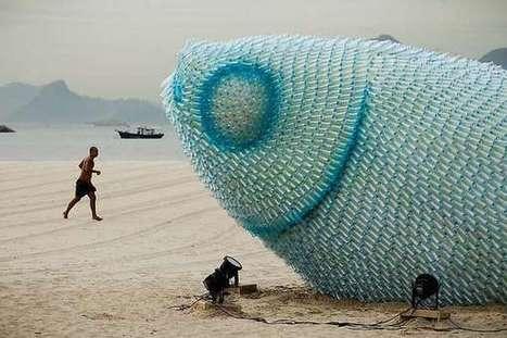 53 Eco-Friendly Sculptures | Class 8 Recyclable Art | Scoop.it