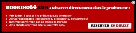 Booking64 : Une démarche responsable dans le domaine de la distribution en ligne | Le tourisme pour les pros | Scoop.it