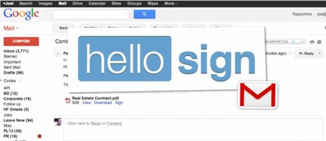 Sign your electronic documents in a few clicks with Hello Sign | Social Media Slant | Admin Assistance | Scoop.it