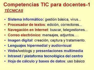FUNCIONES DE LOS DOCENTES HOY | Perfil TIC del docente | Scoop.it
