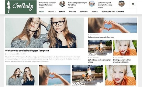 CoolBaby - Powerful multipurpose blogger theme | Blogger themes | Scoop.it