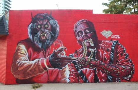 Street Art 10-28-14 Run The Jewels Launch 'Tag the Jewels' Street Art Project In Support Of 'RTJ2' [PHOTOS] | Street Art Planet | Scoop.it