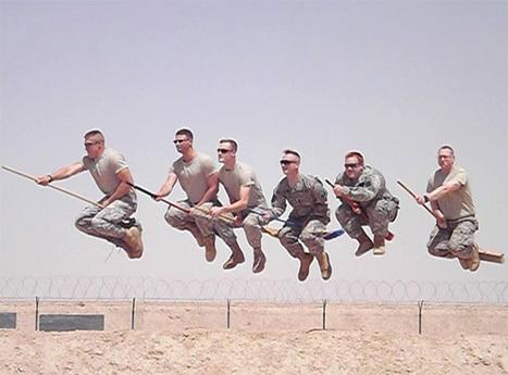 Des soldats américains jouent au Quidditch d'Harry Potter | Humour et Marketing | Scoop.it