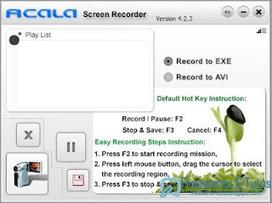 Acala Screen Recorder : un logiciel de capture d'écran vidéo gratuit | TICE & FLE | Scoop.it