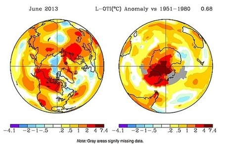 NASA: Globally, June Was Second Warmest On Record | Sustain Our Earth | Scoop.it