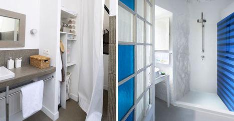 Décoration salle de bains : 21 belles photos de salles de bains qui optimisent l'espace   Prix moyens, conseils et devis salle de bain   Scoop.it
