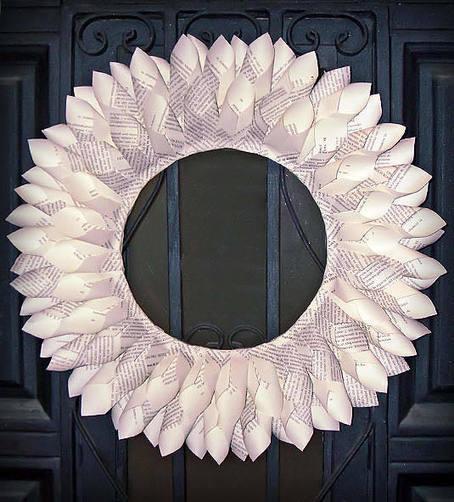 Cómo hacer una corona de navidad con papel | Con tus propias manos - Lola | Scoop.it