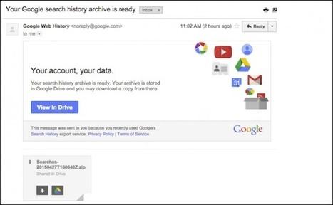 How to Download, Delete, or Pause Your Google Search History | digital citizenship | Scoop.it