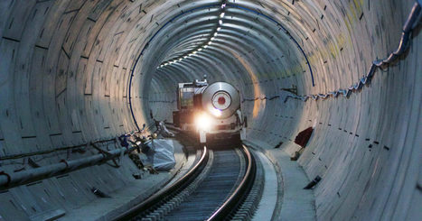 Watch London Get Its Shiny New Crossrail Tunnels Ready for Action | Heron | Scoop.it