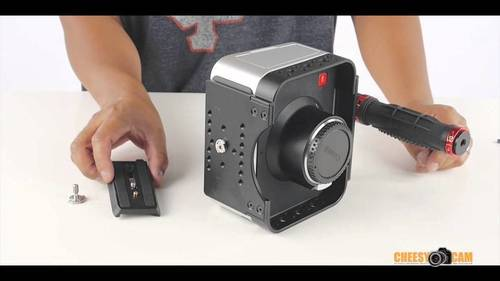BlackMagic Design Cinema Camera or Production 4K Video Cage