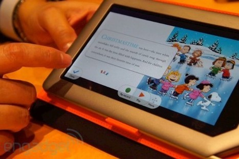 Nook Tablet's Read and Record hands-on (video) -- Engadget | ebook experiment | Scoop.it