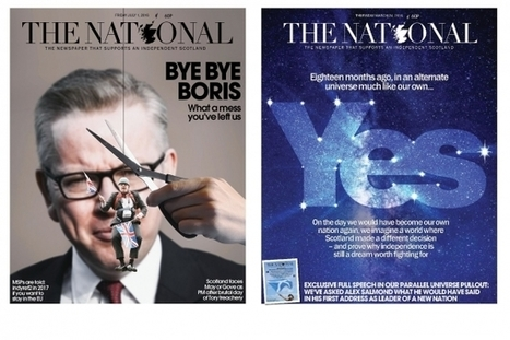 Competition: You can design our Indyref front page | My Scotland | Scoop.it