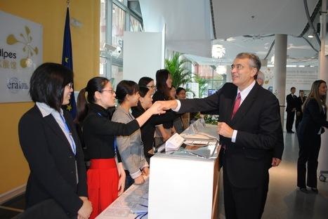 LYon-Actualités.fr: Chine : Rhône-Alpes renforce sa présence à Shanghaï | LYFtv - Lyon | Scoop.it
