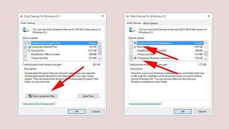 Reclaim Disk Space After Windows 10 Update by Deleting Old Builds | Bazaar | Scoop.it