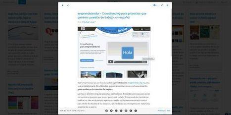MultiPLX, elegante lector de canales RSS con un toque tipo Pinterest | #TRIC para los de LETRAS | Scoop.it