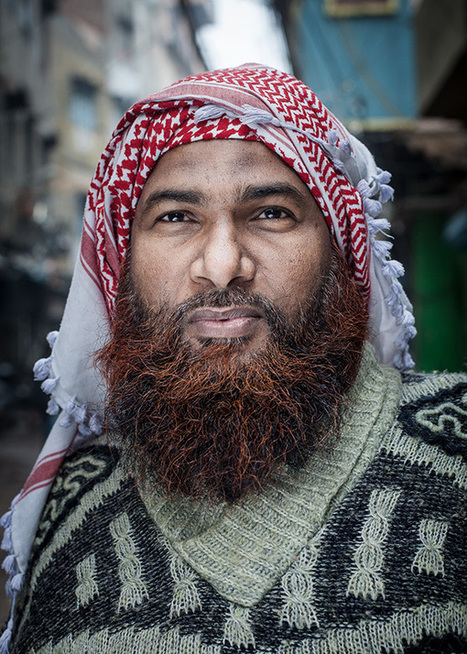 Portraits of the kind Muslim men of Delhi: an interview with French photographer Serge Bouvet by Bianca Olivia Nita | PHOTOGRAPHERS | Scoop.it
