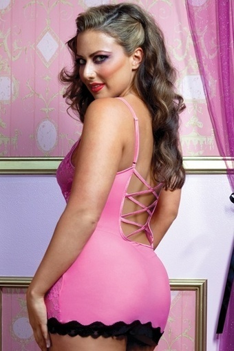 Sexy Plus Size Lace Trim Chemise –SexyLingeriesDeal.com | Queen Size Costumes | Scoop.it