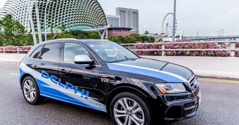 Delphi will test its self-driving taxi service in Singapore | Outbreaks of Futurity | Scoop.it