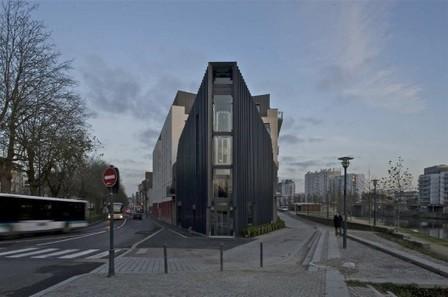 [Rennes, France] Tai Shogun Restaurant / Barré Lambot Architectes | The Architecture of the City | Scoop.it