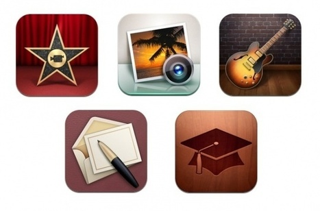 Apple Updates iMovie, iPhoto, Garageband, Cards, And iTunes U For iOS | 21st Century Education for 21st Century Educators | Scoop.it
