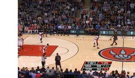 LeBron Dances at Half Court | basketball | Scoop.it
