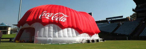 Inflatable Experiential Zones Pop-Up Everywhere | Experiential Advertising & Event Marketing | Scoop.it