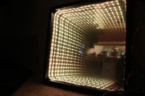 Chromatic Temperature Display - Arduino Controlled RGB LED Infinity Mirror | Raspberry Pi | Scoop.it