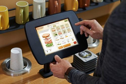 panera kiosk tablet
