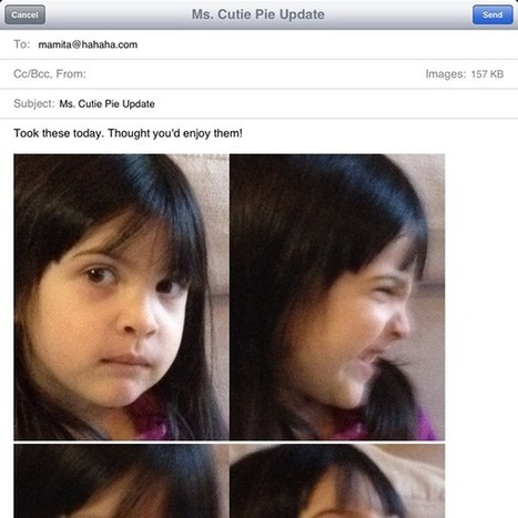How to Text or Email Multiple Photos from an iPhone or iPad | Groovin' On Apps | How to Use an iPhone Well | Scoop.it