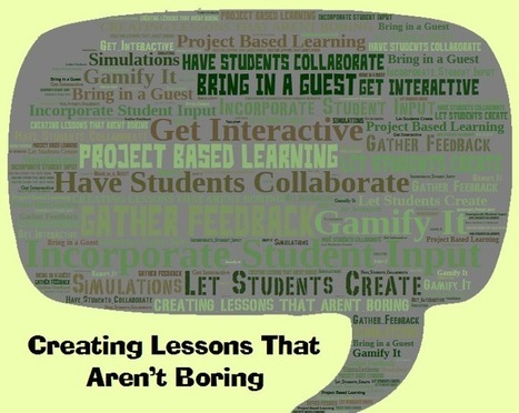 8 Great Ways to use Technology in the Classroom to Create Lessons That Aren't Boring | Digital Tools in Education | Scoop.it
