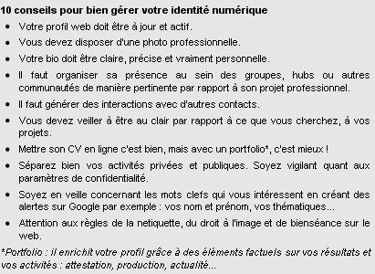 Gérer son identité numérique et son personal branding en ligne - Le Blog du Personal Branding   Numériquement vôtre   Scoop.it