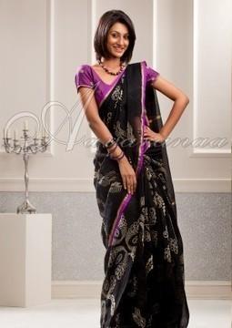 Buy Chanderi Sarees Online | Chanderi Saree Shopping in India – Aavaranaa | Latest designer sarees collections | Scoop.it