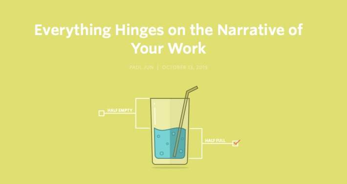 Everything Hinges on the Narrative of Your Work | Knowledge Broker | Scoop.it