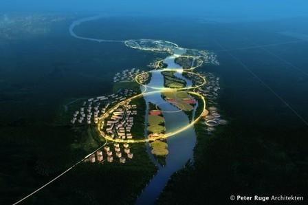 Escritório alemão projeta cidade saudável e sustentável na China | arkhitekton | Scoop.it
