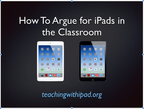 Analyzing iPad Myths in Education - teachingwithipad.org | one-to-one teaching and learning environment | Scoop.it