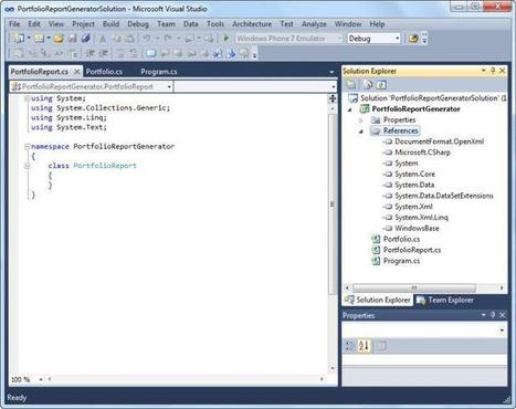 Generating Excel 2010 Workbooks by using the Open XML SDK 2.0 | .NET coding | Scoop.it