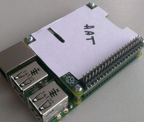 Raspberry Pi Model B+ can wear HATs (Hardware Attached on Top) - Liliputing | Raspberry Pi | Scoop.it