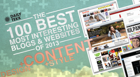 The 100 Best, Most Interesting Blogs and Websites of 2013 | Human Communications | Scoop.it