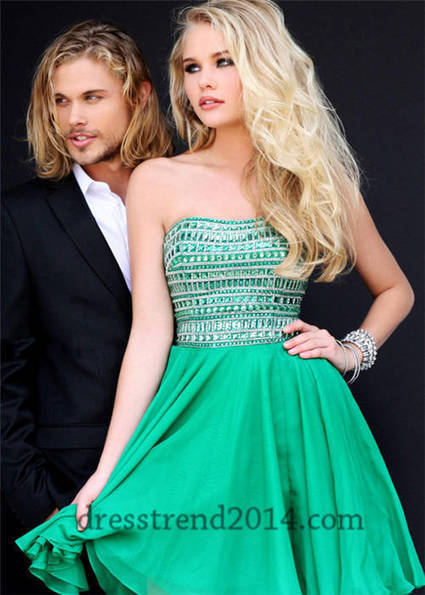 Beaded Top A Line Short Homecoming Dresses 2014 [short homecoming dresses 2014] - $193.00 : Cheap Prom Dresses 2014,Affordable Junior Prom Dresses | prom dresses 2014 | Scoop.it