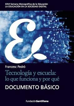 Tecnología y escuela: lo que funciona y por qué | web2.0ensapje | Scoop.it