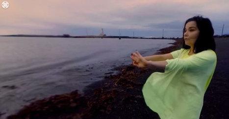 Björk sort un clip en 360 degrés sur YouTube   UseNum - Technologies   Scoop.it