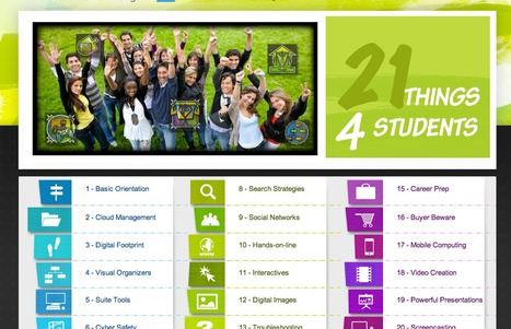 21 Things 4 Students | Mimi's  ICT | Scoop.it
