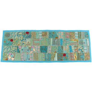 Embroidered Runner Wall Hanging Tapestry by eyesofindia.com | eyesofindia | Scoop.it