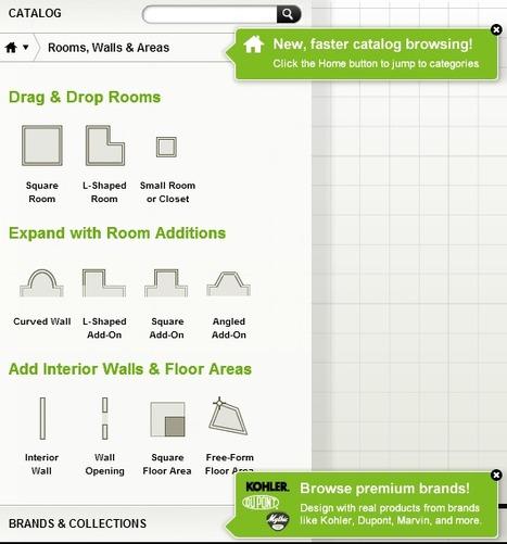 3 sites pour créer l'interieur de votre maison gratuitement | Maison Ou Bureau | Free software | Scoop.it