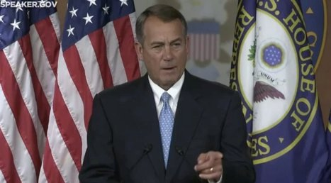 John Boehner Insists It's 'Nonsense' 112th Congress Was Least Productive, Even Though It Was | Crap You Should Read | Scoop.it