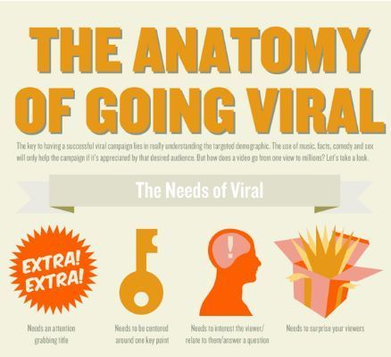 The anatomy of a viral campaign [Infographic] | Transmedia: Storytelling for the Digital Age | Scoop.it