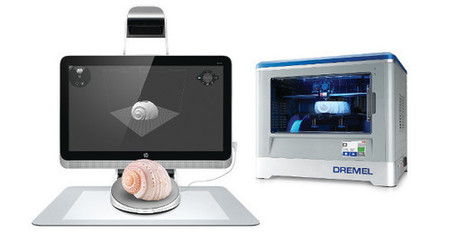 Sprout, le scanner 3D selon HP | 3D for all and everywhere | Scoop.it