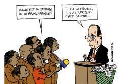 Hollande face à deux Afrique: l'une glande, l'autre gronde | Actualités Afrique | Scoop.it