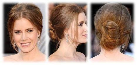 Updo Hairstyle With High Volume Chignon Face Framing Pieces By Amy Adams | Beauty and Hairstyles | Scoop.it